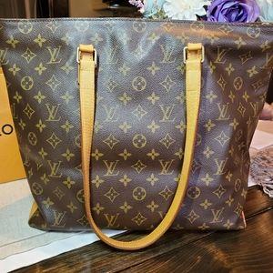 Louis Vuitton Bags - Authentic Louis Vuitton Cabas Mezzo Bag Monogram